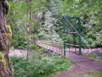 Metzler Park Suspension Bridge