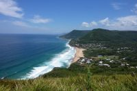 Stanwell Tops towards Wollongong NSW