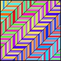 Striped Diagonals (M)