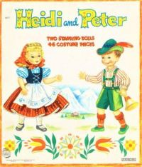 Themes Vintage illustrations/pictures - Heidi and Peter Paper Dolls