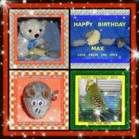 ==  HAPPY  2 ND BIRTHDAY  MAX  ==