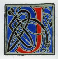 Celtic Alphabet J