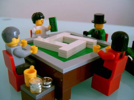 Lego Mahjongg players (2)