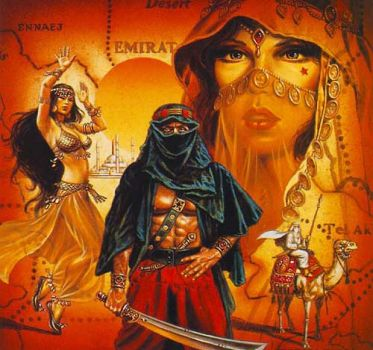 Theme - Arab Fantasy Art