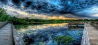 White Lake At Blue Hour