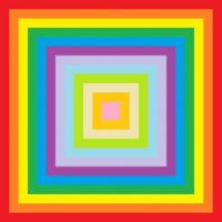 Double Rainbow Square
