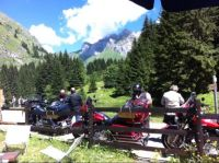 Bikers in the Mountains