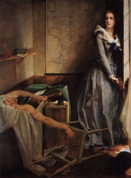 Baudry - Charlotte Corday (Having just assassinated Marat)