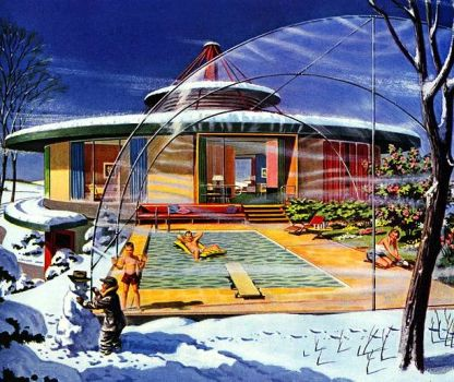 YOUR HOUSE OF THE FUTURE - 1956