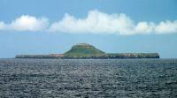 Hebridean Island Bac Mòr or Dutchman's Hat