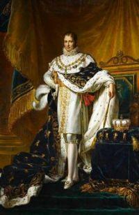 Joseph Bonaparte as King of Spain (full figure)