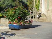 Planted Boat in France