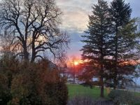 Sunrise over germany