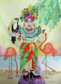 Rosemary Aubut Art - Meals on Heels!