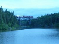 Train Bridge over the Little Pic River