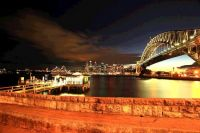 Sydney Bridge harbour