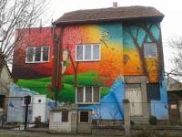 Barevný dům v Čakovicích