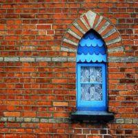 Alms House Window Padstow Cornwall