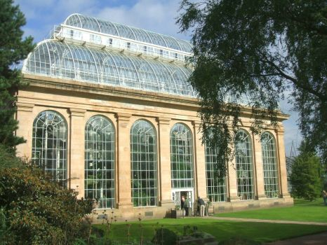 Glasshouse, Botanics, Edinburgh