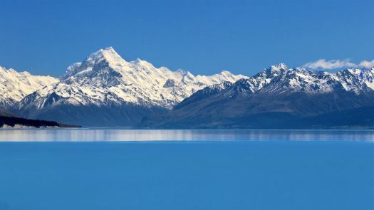 Lake Pukaki Theme Blue