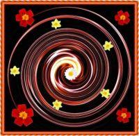 Flower Swirl.