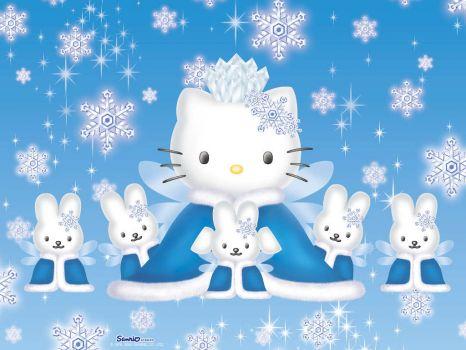 Hello Kitty Snow Queen