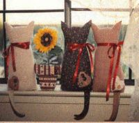 Cat Window Dressings