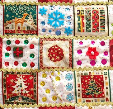 Christmas Quilt Wallhanging