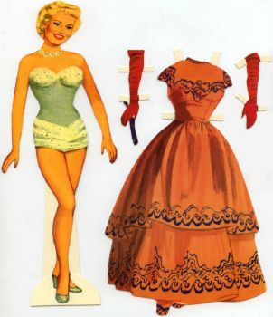 Paper Doll   ~   Betty Grable