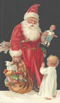 Santa with one child.jigidi