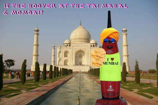 44) Is the Hoover at the Taj Mahal?