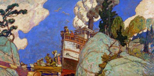 The Supply Boat, J. E. H. MacDonald