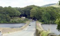 The Road between Rivington Lower Reservoirs (1)