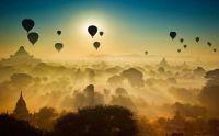 Balloons over Burma