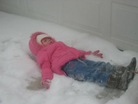 Lily snow angel