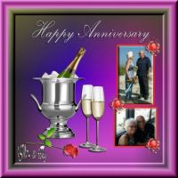 HAPPY ANNIVERSARY RICHARD AND SANDY..... ¸¸.•*¨*•♫♪¸¸.•*¨*•♫♪
