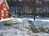 Plowing the yard - rear