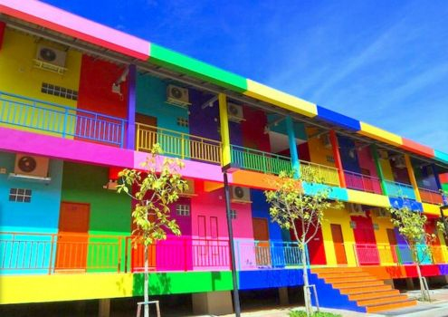 Colorful Beach Apartments