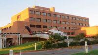 Medevac helicopter at Good Shepherd Medical center in Longview, TX