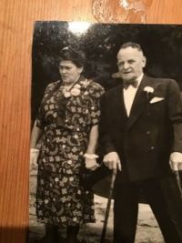 Vintage photo - my other grandparents