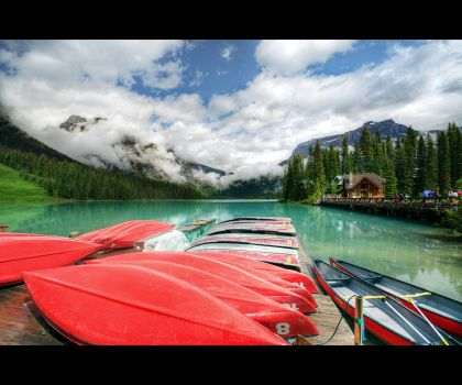 Emerald Lake, by T.P Photographie on flickr