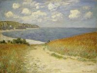 Claude Monet - Path Through the Corn at Pourville, 1883 (Apr17P22)