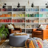 Color-Coordinated Library