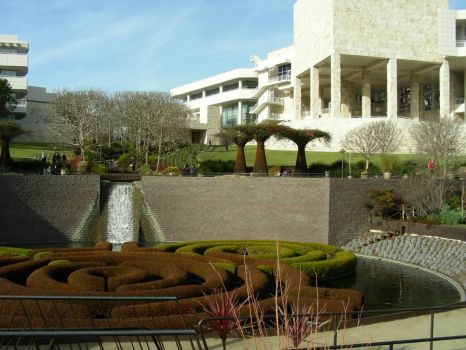 Getty Museum grounds