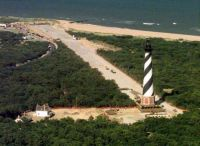 "THEME:  ""Lighthouses""  Moving the Cape Hatteras NC Lighthouse"