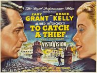 TO CATCH A THIEF - 1955 MOVIE POSTER  CARY GRANT, GRACE KELLY