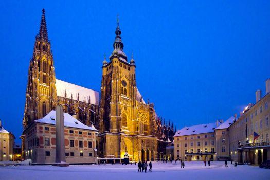 St. Vitus Cathedral in Prague, Czech Republic