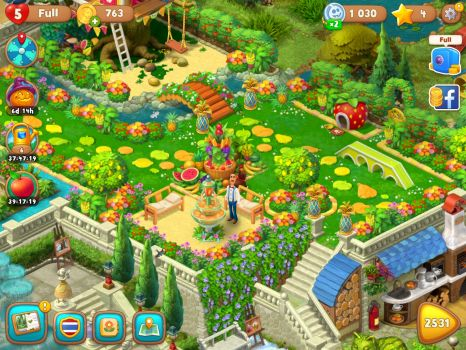 Gardenscapes fruits