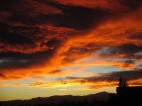 2017-10-22, Sunset at Cactus Gulch in El Paso County, Colorado