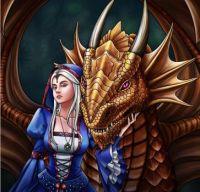 Purple eye dragon